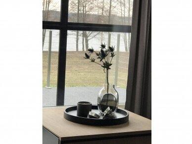 Apverčiama stiklinė vaza LOUISA 4