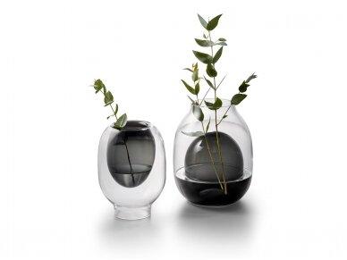Apverčiama stiklinė vaza LOUISA