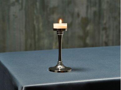 Arbatinė žvakutė balta 2
