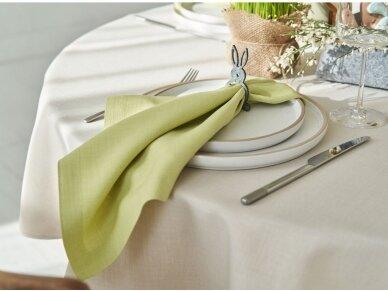 Atspari dėmėms staltiesė LOFT, garstyčių spalvos 2