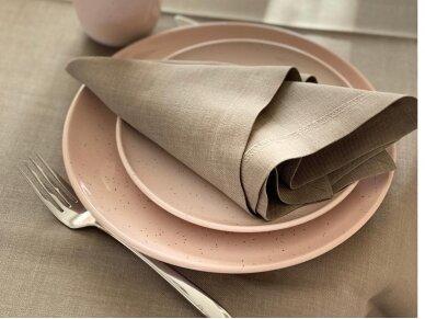 Atspari dėmėms staltiesė LOFT, lino spalvos 2