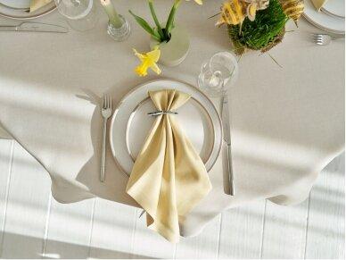 Atspari dėmėms staltiesė LOFT, smėlinė 4