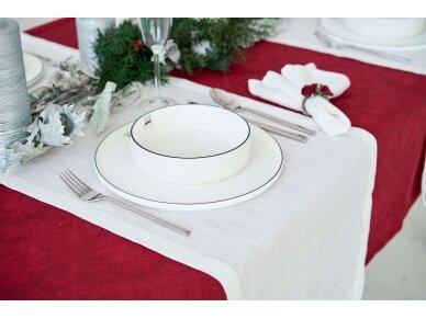 Balto lino dovanų rinkinys 2