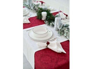 Balto lino dovanų rinkinys 3