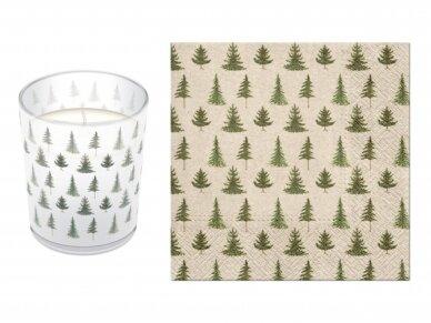 """Ekologiškos servetėlės """"Conifer forest"""" 2"""