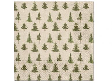 """Ekologiškos servetėlės """"Conifer forest"""""""