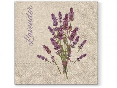 """Ekologiškos servetėlės """"Lavender for you"""""""