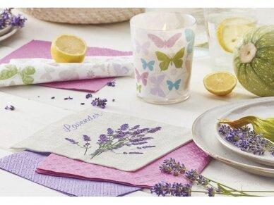 """Ekologiškos servetėlės """"Lavender for you"""" 2"""