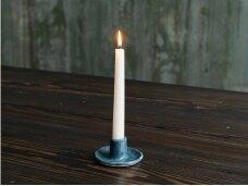Keramikinė žvakidė mėlyna
