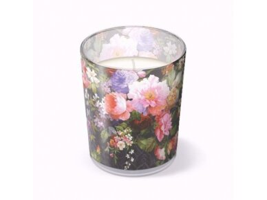 """Kvepianti žvakė """"Rose on  Velvet"""""""
