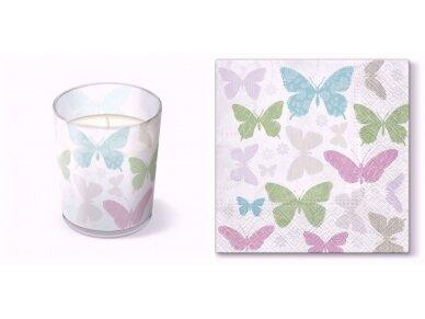 "Kvepianti žvakė ""Soft butterflies"" 4"
