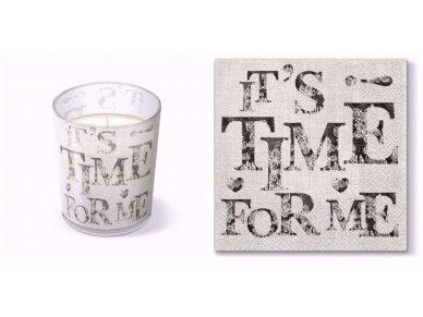 """Kvepianti žvakė """"Time for my"""""""