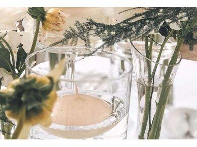 Plaukiojanti žvakė šampaninė 5