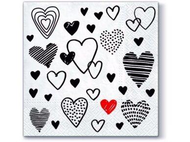 """Popierinės servetėlės """"Crazy love"""""""