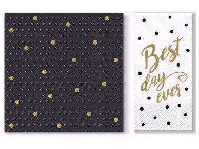 """Popierinės servetėlės """"Dots spots"""" 2"""