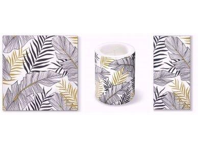 """Popierinės servetėlės """"Exotic leaves"""" 4"""
