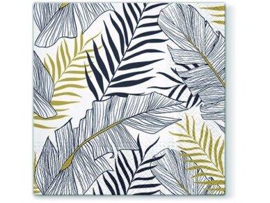 """Popierinės servetėlės """"Exotic leaves"""""""