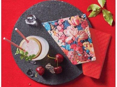 """Popierinės servetėlės """"Flower Splendor"""" 3"""