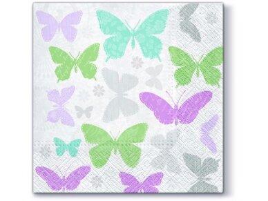 """Popierinės servetėlės """"Soft butterflies"""""""