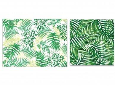"""Popierinės servetėlės """"Tropical leaves"""" 2"""