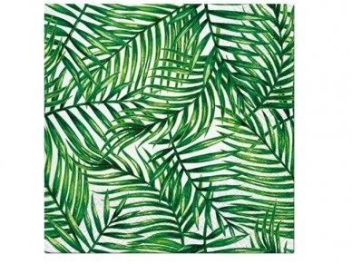 """Popierinės servetėlės """"Tropical leaves"""""""
