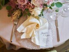 Servetėlė šampaninė besiūlė 40 x 40 cm
