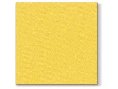 Servetėlė geltona Airlaid, yellow