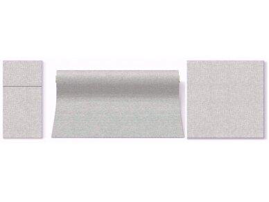 Servetėlė įrankiams pilka Airlaid,  linen structure grey 3