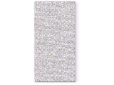 Servetėlė įrankiams pilka Airlaid,  linen structure grey