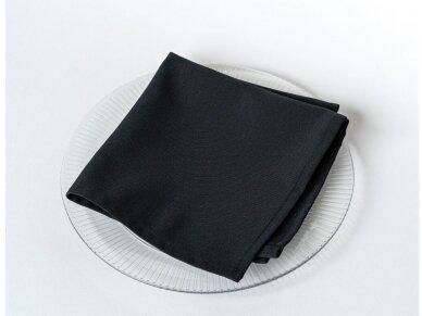 Servetėlė juoda 40 x 40 cm
