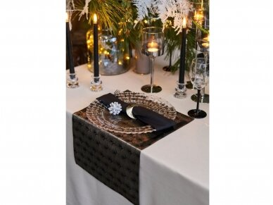 Servetėlė juoda 40 x 40 cm 5