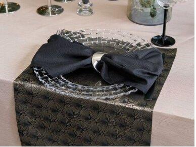 Servetėlė juoda 40 x 40 cm 6
