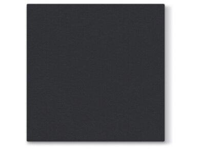 Servetėlė juoda Airlaid, black