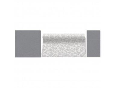 Servetėlė pilka Airlaid, grey 2