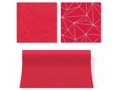 Servetėlė raudona Airlaid, red 3