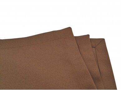 Servetėlė ruda blizgi 45 x 45 cm 3