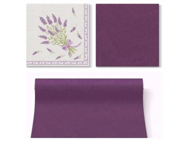 Servetėlė violetinė Airlaid, plum 3