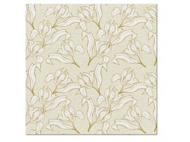 """Servetėlės """"Gėlių elegancija"""" Airlaid, Floral elegance"""