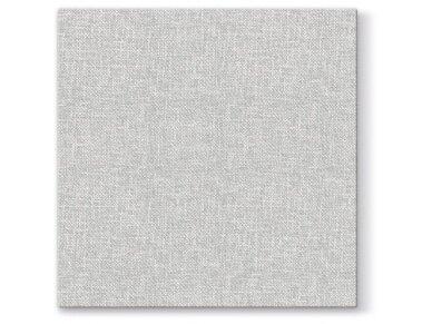 Servetėlės lino imitacijos pilkos Airlaid, Linen Structure grey