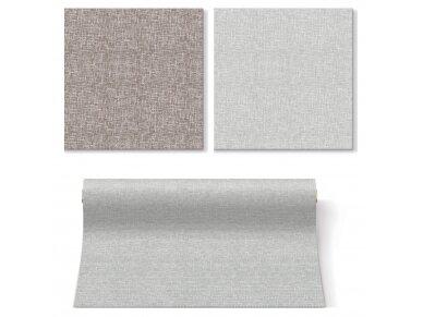 Servetėlės lino imitacijos pilkos Airlaid, Linen Structure grey 4