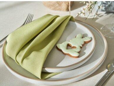 Servetėlės žalios citrinų spalvos,  atspari dėmėms, LOFT 3