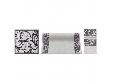 Servetėlės pilka Airlaid, Fabric ornament 2