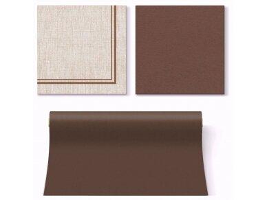 Servetėlės rudos Airlaid, Natural Frame brown 2