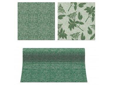 """Servetėlės """"Šeivamedžio uogos"""" žalios Airlaid, ELDERBERRIES green 2"""