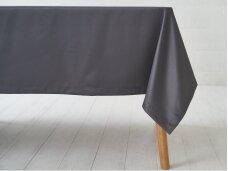 Staltiesė tamsiai pilka grafito saten