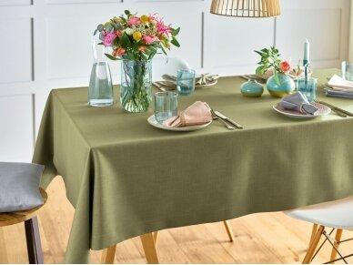 Staltiesė atspari dėmėms staltiesė LOFT, pilka 3