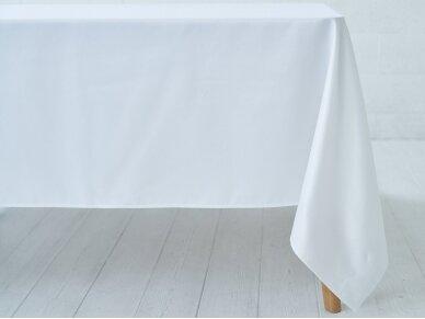 Staltiesė balta saten