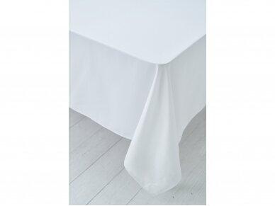 Staltiesė balta saten 2