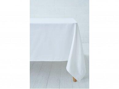 Staltiesė balta saten 3