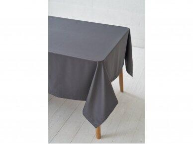 Staltiesė tamsiai pilka grafito saten 3